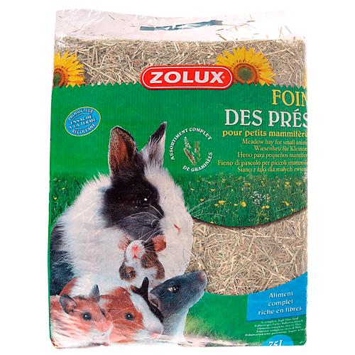 Zolux – heno de prado 75 litros (2,5 kg) para pequeños conejos